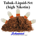 Tabak-Liquid Set high Nikotin