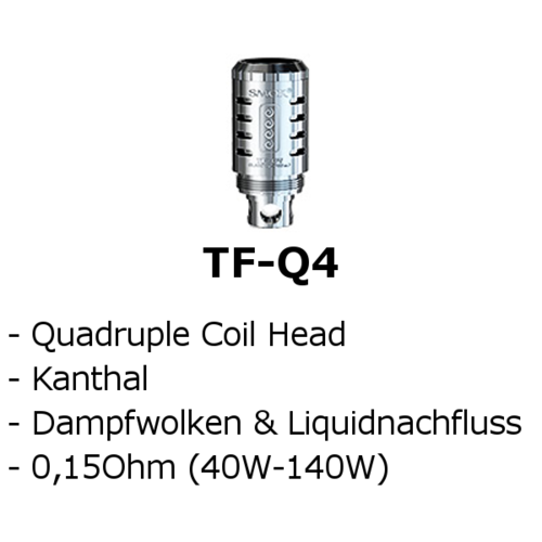 TF-Q4 Quadruple Coil (Smok)