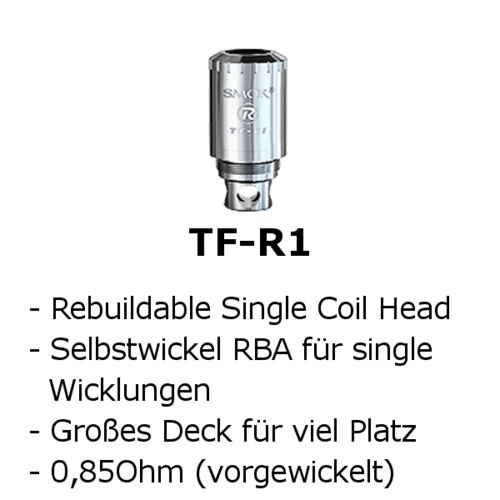 TF-R1 Single-Coil RBA (Smok)