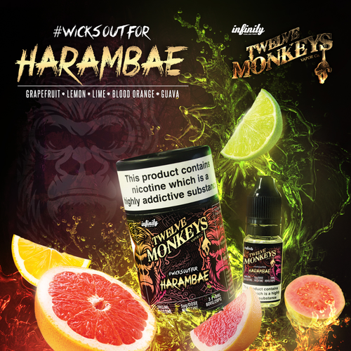 Harambae Liquid (Twelve Monkeys)