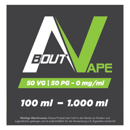 About Vape Base 50VG/50PG